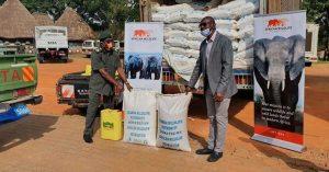 AWF Donates Food to UWA