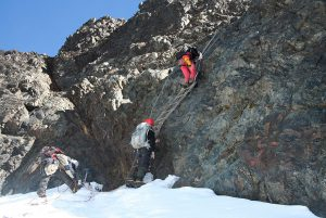 Climbing the Rwenzoris